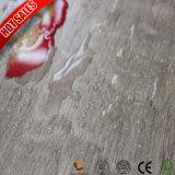 Plancher en stratifié gravé en relief du coût bas 8mm de bois dur petit