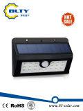 установленный стеной свет датчика движения 1W напольный СИД солнечный