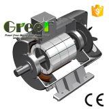 200kw 900rpm RPM basso alternatore senza spazzola di CA di 3 fasi, generatore a magnete permanente, dinamo di alta efficienza, Aerogenerator magnetico