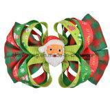 クリスマスのヘアークリップの毛は毛のアクセサリを曲げる
