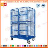 Промышленные стальная проволока сетчатый каркас для плат склад контейнер для хранения (ZHra66)