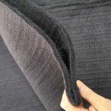 [700غرم] [7مّ] كثيفا أسود بوليبروبيلين [نونووفن] [جوتإكستيل] يستعمل لأنّ ملعب مدرّج