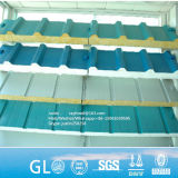 Revestido de color de paneles sándwich EPS el panel de pared de aislamiento