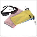 Pochette de lunettes de soleil en plusieurs couleurs en microfibres