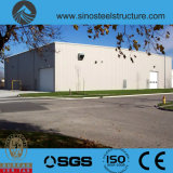 세륨 ISO BV SGS에 의하여 전 설계되는 강철 건축 창고 (TRD-072)