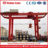 Kraan van de Brug van de Container van Weihua de Op rails gemonteerde Rmg