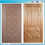 自然な灰のベニヤ材料が付いている型MDF/HDFのドアの皮