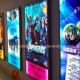 Film Poster Light Box con Advertizing Billboard