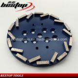 """호주 시장을위한 10 """"D250mm 금속 본드 콘크리트 그라인딩 디스크"""