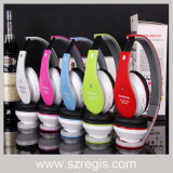 Handfree stéréo sans fil casque Bluetooth casque support TF FM MP3