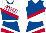Jerseys llenos de encargo del Cheerleading del diseño de Despoke de la sublimación del tinte de Healong