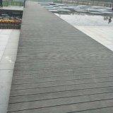 Suelo al aire libre de la instalación fácil hecho de bambú tejido hilo