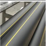 PE100 Tubo de plástico de HDPE para suministro de agua