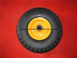 EL-624 Roues à mousse PU PU-624 260X85 à rouleaux en plastique avec bord en plastique