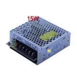 15W de saída único transformador de LED de Alimentação de comutação