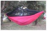 Las ventas de paracaídas de nylon ripstop caliente Camping hamaca con Bug Net