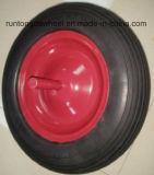 350-8 Qualitätsschubkarre PU-Schaumgummi-Rad für Spanien-Markt