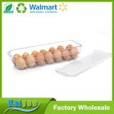 Hogar Cocina Transparente huevo almacenamiento titular con tapa