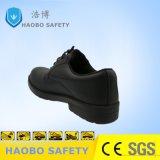 Pattini di sicurezza poco costosi leggeri del cuoio genuino con la punta d'acciaio