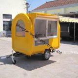 ヴァンTrailer移動式食糧カート/ガラス繊維の可動装置の調理及びCoffee Catering
