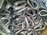 Braçadeira de aço galvanizada a quente do dedal