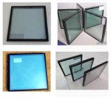 vetro isolato Basso-e Tempered tinto radura di 5mm+12A+5mm per costruzione