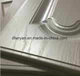 Portello ad alta densità dell'armadio da cucina di memoria del MDF con la pellicola del PVC