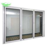 Panel de doble puerta 2180mmx 1800mm fuera de la cueva de abrir la puerta exterior de aluminio
