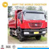 290HP 10 바퀴 Hongyan Iveco 덤프 트럭