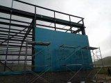 La struttura d'acciaio chiara/prefabbrica il magazzino della struttura d'acciaio