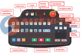 Macchina SICURA di controllo dei raggi X di obbligazione di HI-TEC che fornisce per l'ambasciata, hotel