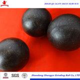 125mm geschmiedete reibende Stahlkugel für Bergbau