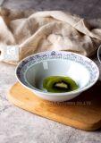 Piatto di ceramica della carne degli articoli della Tabella del piatto di pranzo di stampa di marchio dell'azienda