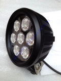 70W 6 '' Round LED Work Light Spot/Flood per Offroad