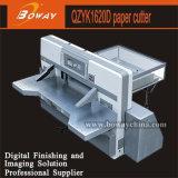 Boway 1620mm Steuerdoppelt-hydraulische doppelte Führungs-Papier-Ausschnitt-Maschine des Programm-8