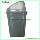 Empurre a tampa recintos públicos 58 L caixote do lixo