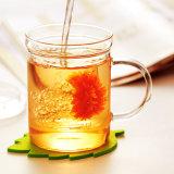 400ml artesanais de vidro borossilicato de alta qualidade de uma boa chávena de chá