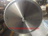 Tct Hoja de sierra circular para sólidos de corte de acero TUBO&&placas de madera aluminio&