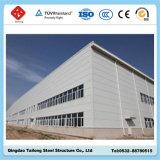 Bon entrepôt d'atelier de structure métallique de lumière de modèle de coût bas à Dubaï