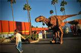 Costume a grandezza naturale a grandezza naturale caldo del dinosauro 2014 a buon mercato
