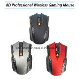 Mini 2.4GHz mouse ottico senza fili caldo Gamer per i mouse senza fili del nuovo gioco dei computer portatili di gioco del PC con il mouse di trasporto di goccia della ricevente del USB