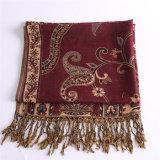 Горячая шаль способа Pashmina зимы шарфа полиэфира сбывания