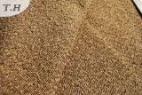 Panno 100% del sofà della pianura del Chenille del poliestere del Brown (FTH31011)