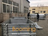 工場サプライチェーンリンク網の一時塀の卸売