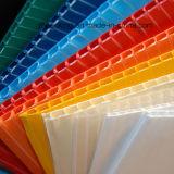 백색과 까만 물결 모양 PP 장 또는 플루트 널 또는 물결 모양 플라스틱 널 제조자