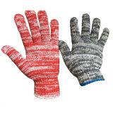 De werkende Handschoenen van de Katoenen Hand van de Handschoen Beschermende Veelkleurige Gebreide