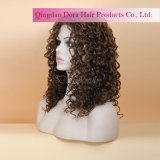 Ocean Wave naturelles Golden blonde cheveux humains chinois Remy Full Lace Wig