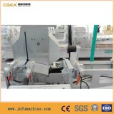Automóvel do perfil do indicador de alumínio que alimenta a máquina dobro do corte da cabeça