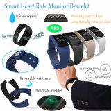 De Armband van de manier met de Monitor van het Tarief en Van de Bloeddruk van het Hart