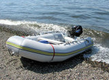 Aqualand 12.5feet 3.85m Rubber Fishing Boat /Inflatable Motor Boat/Military Rescue (aql385)